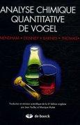 Livres Couvertures de Analyse chimique quantitative de Vogel