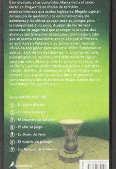 Buchdeckel von Harry Potter 6 y el misterio del príncipe
