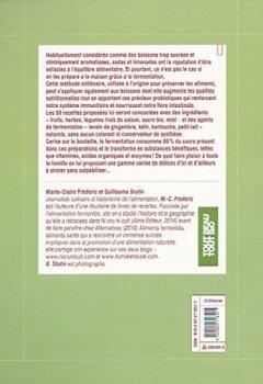 Livres Couvertures de Boissons fermentées naturelles: Sodas, limonades, kéfirs et kombuchas