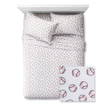 Pillowfort-Baseball-Twin-Sheet-Set