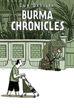 Portada del libro deBurma Chronicles