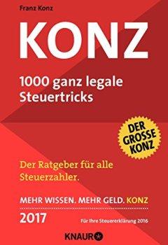 Buchdeckel von Konz: 1000 ganz legale Steuertricks