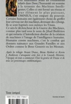 Livres Couvertures de Dune, la genèse (1)