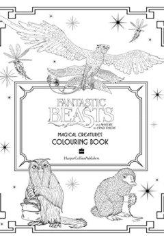Livres Couvertures de Les Animaux fantastiques : livre de coloriage des Créatures Magiques