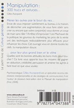 Livres Couvertures de Petit livre de - Manipulation : 300 trucs et astuces pour obtenir tout ce que vous voulez