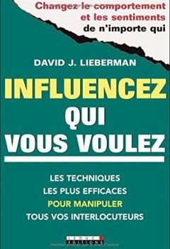 Livres Couvertures de Influencez qui vous voulez : 5 minutes pour changer le comportement de vos interlocuteurs