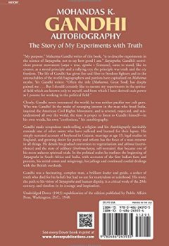 Livres Couvertures de Autobiography: The Story of My Experiments With Truth