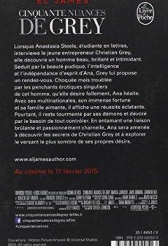 Livres Couvertures de Cinquante nuances de Grey (Fifty Shades, Tome 1) - Edition film