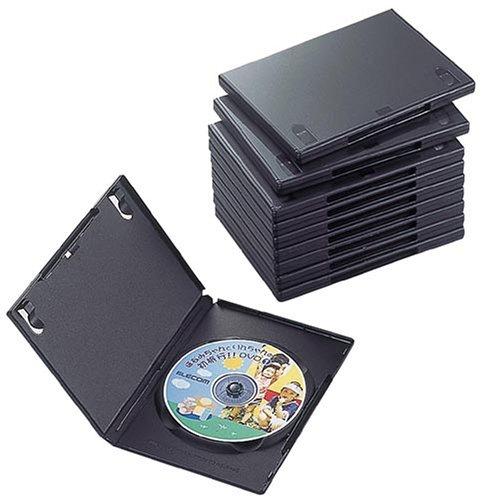 ELECOM CCD-DVD03BK DVDトールケース