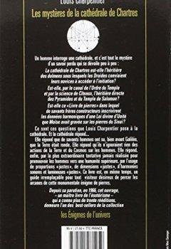 Livres Couvertures de Les Mystères de la cathédrale de Chartres