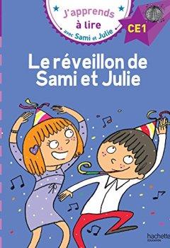 Livres Couvertures de Sami et Julie CE1 Le réveillon de Sami et Julie