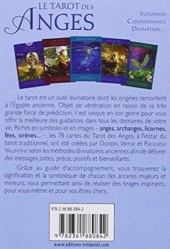Livres Couvertures de Le tarot des anges - 78 cartes + livre explicatif