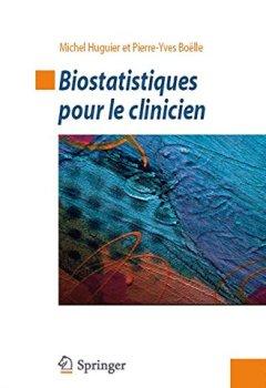 Livres Couvertures de Biostatistiques pour le clinicien