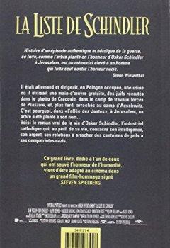 Livres Couvertures de LISTE DE SCHINDLER
