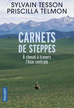 Livres Couvertures de Carnets de steppes