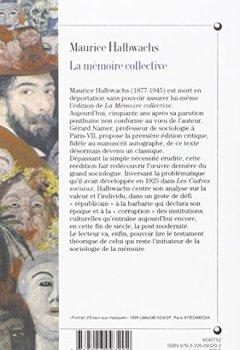 Livres Couvertures de La Mémoire collective-