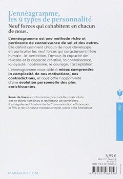 Livres Couvertures de L'ennéagramme: Les 9 types de personnalités