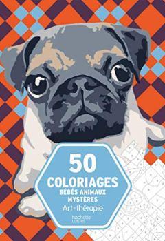 Livres Couvertures de 50 coloriages Bébés Animaux Mystères