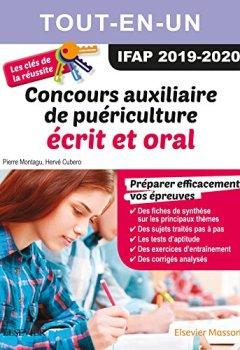 Livres Couvertures de Concours Auxiliaire de puériculture 2019/2020 Tout-en-un : écrit et oral: Les clés de la réussite