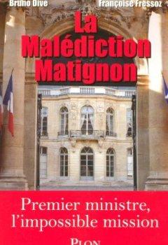 Livres Couvertures de La malédiction Matignon