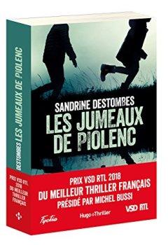 Livres Couvertures de Les Jumeaux de Piolenc - Prix VSD RTL du Meilleur Thriller Français Présidé par Michel Bussi
