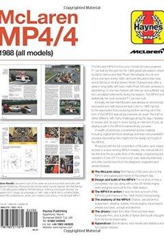 Livres Couvertures de McLaren Mp4/4