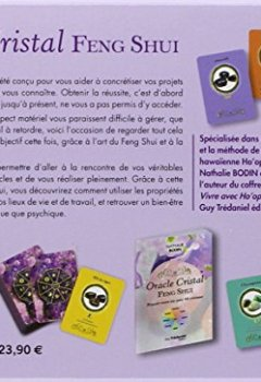 Livres Couvertures de Oracle Cristal Feng Shui, réussir votre vie avec 44 cristaux : Avec 44 cartes