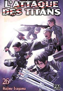 Livres Couvertures de L'Attaque des Titans T26