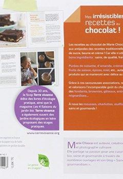Livres Couvertures de Irresistibles Recettes au Chocolat (Mes)