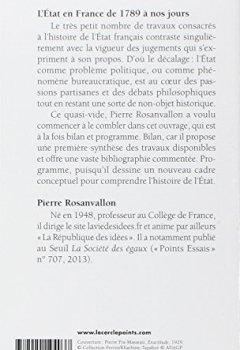 Livres Couvertures de L'Etat en France : de 1789 à nos jours