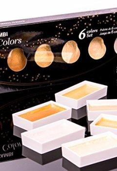 Livres Couvertures de Kuretake MC20Kit de Sc/6V Aquarelle, Couleur d'Eau, couleurs assorties, 19,6x 7x 1,6cm