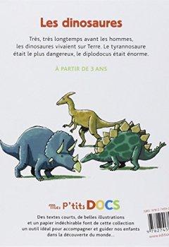 Livres Couvertures de Dinosaures (les)