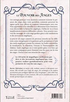 Livres Couvertures de Le Pouvoir des Anges - Invocations, méditations et soins énergétiques - Livre + CD