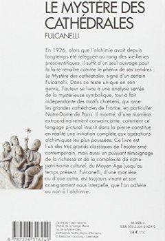 Livres Couvertures de Le mystere des cathédrales