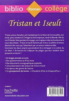Livres Couvertures de BiblioCollège Tristan et Iseult