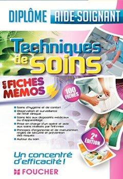 Livres Couvertures de Techniques de soins - Aide-soignant