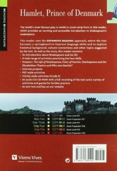 Livres Couvertures de Hamlet Prince Of Denmark+cd-rom (r.s B1.1)