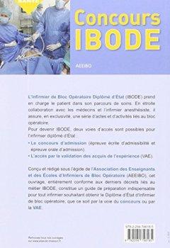 Livres Couvertures de Concours IBODE: Épreuves écrite et orale et accès par la VAE