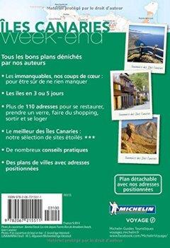 Livres Couvertures de Guide Vert Week-End Iles Canaries Michelin