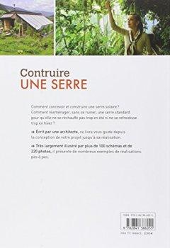 Livres Couvertures de Construire une serre : Serres solaires passives : conception, exemples de réalisation