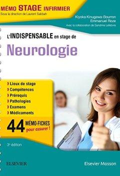 Livres Couvertures de L'indispensable en stage de Neurologie