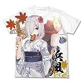 艦隊これくしょん -艦これ- 浴衣の浜風 フルグラフィックTシャツ ホワイト Sサイズ