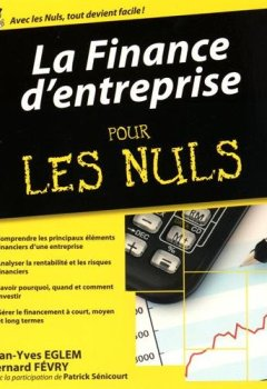 Livres Couvertures de La Finance d'entreprise pour les Nuls