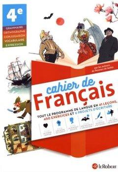 Livres Couvertures de Cahier de français 4e