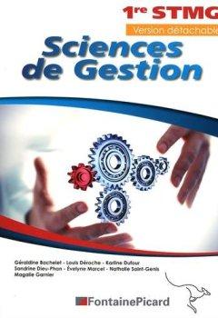 Livres Couvertures de Sciences de gestion 1e STMG