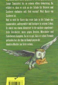 Buchdeckel von Harry Potter und der Stein der Weisen