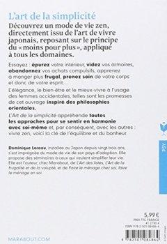 Livres Couvertures de L'art de la simplicité: Simplifier sa vie, c'est l'enrichir