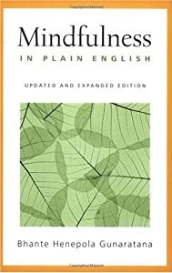 """Cover of """"Mindfulness in Plain English: R..."""