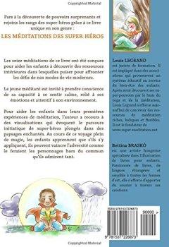 Livres Couvertures de Les méditations des super-héros: Parcours de méditations guidées pour enfants