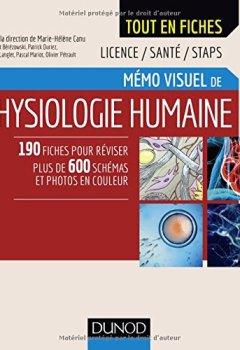 Livres Couvertures de Mémo visuel de physiologie humaine